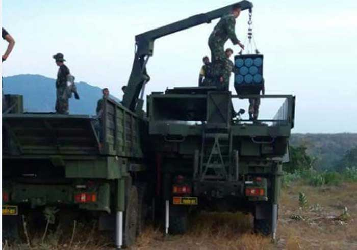 Avibras AV-RMD: Wahana Pembawa (Logistik) Amunisi MLRS ASTROS II TNI AD
