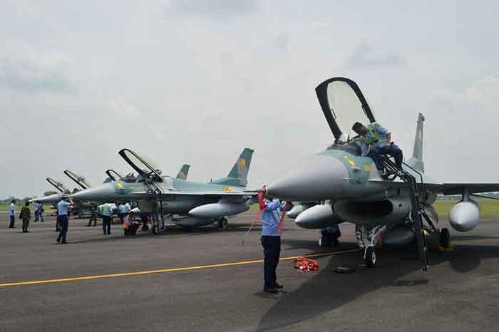 13 Unit F-16 C/D Block52ID Kini Siap Mengawal Ruang Udara NKRI