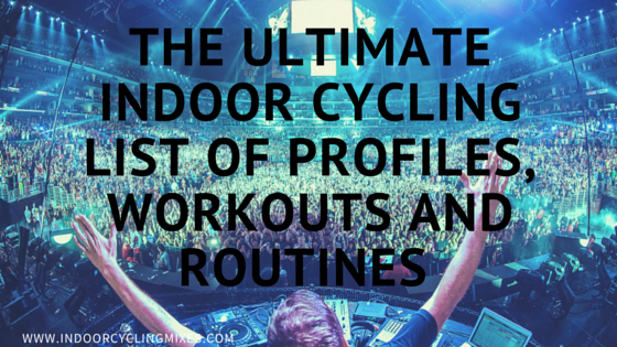 Ultimate List of Indoor Cycling Profiles
