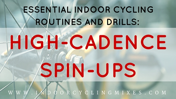 Indoor Cycling and Spin class Drills- Spin Ups