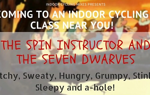 Coming to a Spin Class Near you - this is funny!
