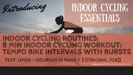 8 Min Tempo Drill for Spin class and Indoor Cycling