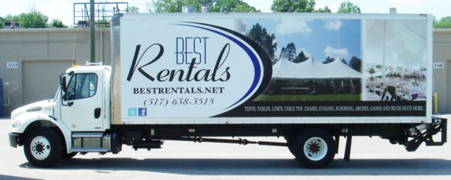 rental business wrap, moving truck wrap, rental company truck wrap