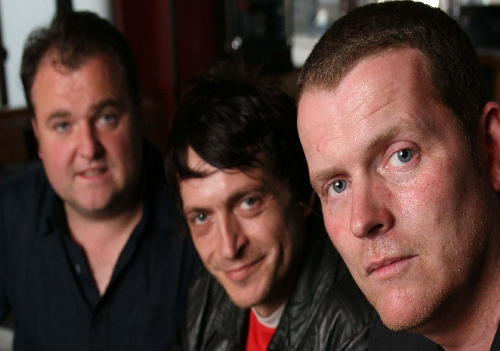 Dodgy, (l-r)Matthew Priest, Andy Miller and Nigel Clark