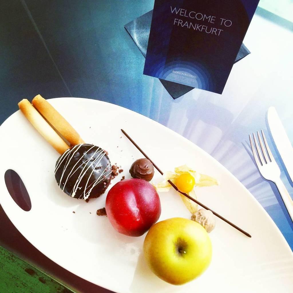 Heute im Radisson Blu Hotel in Frankfurt mit diesen leckerenhellip