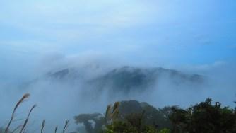In de wolken zijn is geweldig.