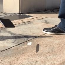 Veja o que acontece quando você joga um iPhone 6 no chão