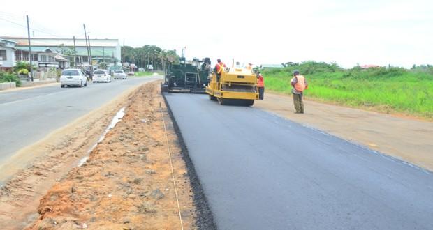 over 191m road works in progress inews guyana
