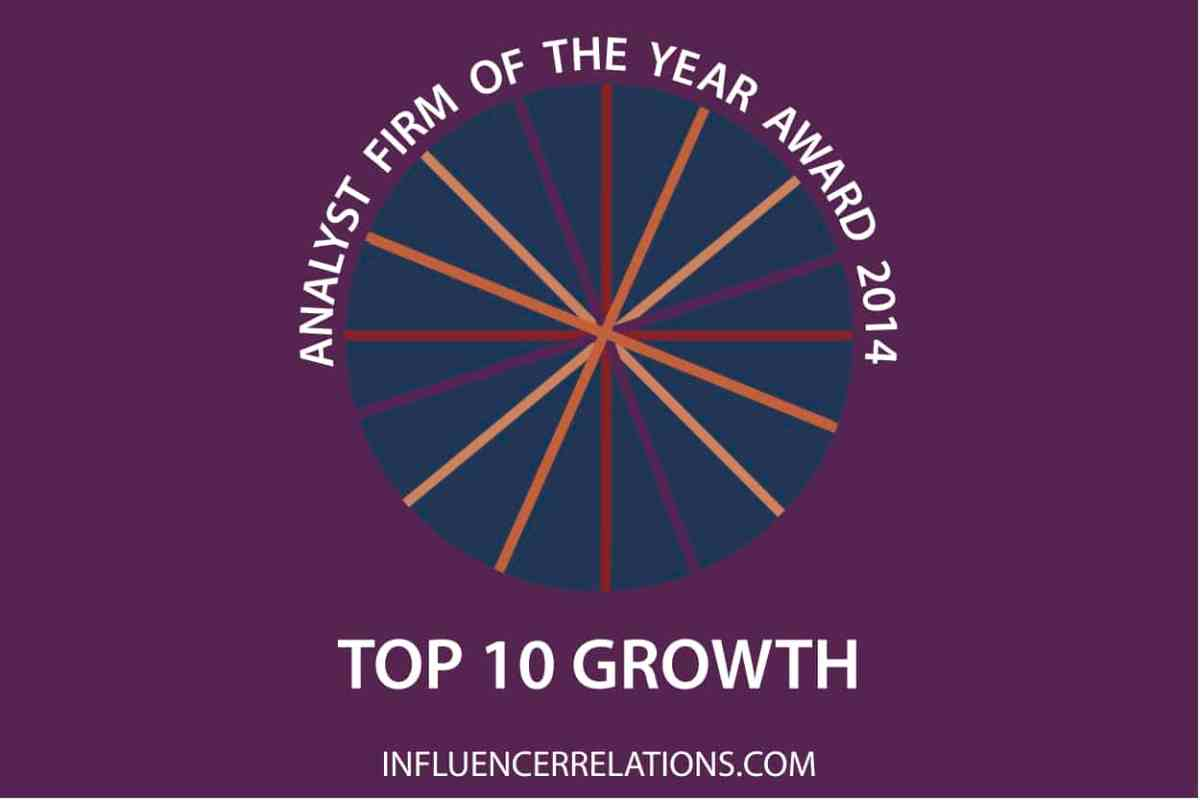 2014's top ten analyst firms for business growth