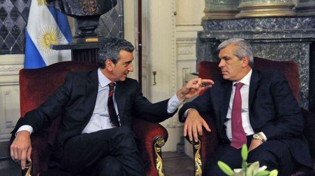 Randazzo y Domínguez, junto a Alberto Fernández, hablaron con todos los intendentes del PJ (Télam)