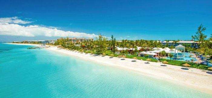 Una postal usual de Turks and Caicos, uno de los más exclusivos destinos de los ricos y famosos en el Caribe