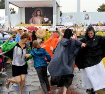 Powitanie papieża Franciszka na krakowskich Błoniach [zdjęcia]