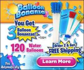 Balloon Bonanza Fill and Tie 40 Balloons At O…