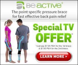 Beactive Pressure Brace Effective Sciatic Back Pain Relief