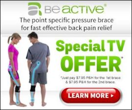 Beactive Pressure Brace Effective Sciatic Bac…