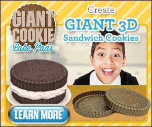 3D Giant Cookie Pans