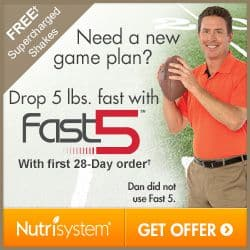 Nutrisystem My Way Diet Foods Fast Five Weight Loss