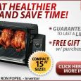 Ronco Rotisserie Showtime Grill Cooking