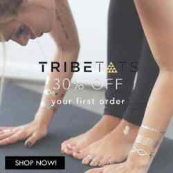 Tribetats Metallic Jewelry Tribal Temporary T…