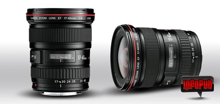 Obiectiv Canon EF 17-40mm f4L USM