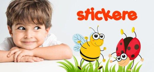Stickere si decoratiuni pentru camera copiilor