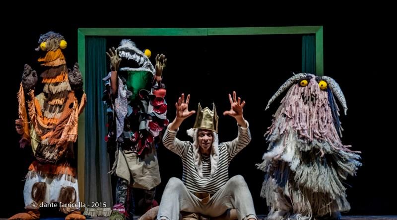 """""""Nella stanza di Max"""", spettacolo di teatro di movimento per bambini al Verdi di Milano"""