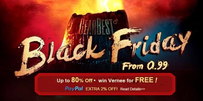 Black Friday: Le migliori offerte di GearBest