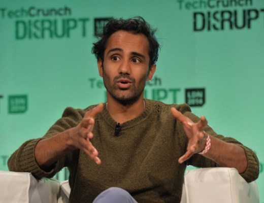 LONDON, ENGLAND - OCTOBER 20:  Rohan Silva from Second Home on stage during the 2014 TechCrunch Disrupt Europe/London at The Old Billingsgate on October 20, 2014 in London, England.  (Photo by Anthony Harvey/Getty Images for TechCrunch) *** Local Caption *** Rohan Silva