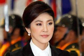 La première ministre Yingluck Shinawatra destituée