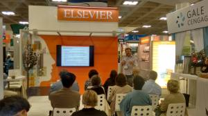 Estand de Elsevier