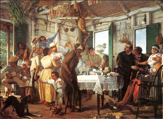 El velorio Francisco Oller 1893 MHAA