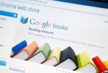 The Chrome Web Store and Google Books page are displayed on a Cr-48 laptop, the first computer to run Google Inc.'s Web-based Chrome Operating System, in New York, U.S., on Friday, Dec. 17, 2010. The Cr-48 is a generic prototype that Google is making available to thousands of developers, companies and others to get them familiar with the concept of the new operating system before commercial versions from manufacturers such as Samsung Electronics Co. and Acer Inc. show up next year. Photographer: Jonathan Fickies/Bloomberg via Getty Images