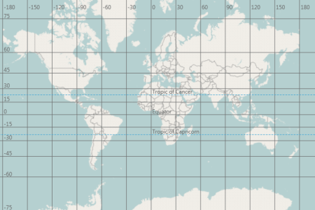 Map On Grid - Us map with coordinate grid