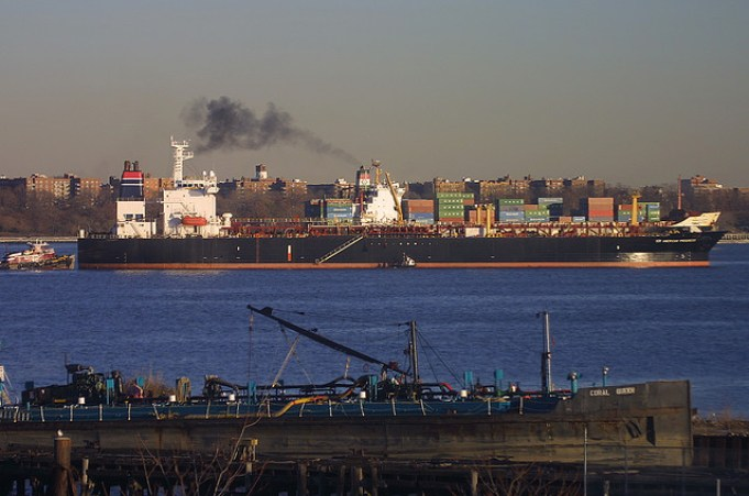 AMERICAN PROGRESS in New York, USA. Dec 2007  Tanker ship, S/R American Progress, seen here in New York, USA. Dec 2007. Copyright Tom Turner. - Tom Turner on Flickr