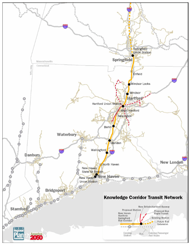 Knowledge Corridor Transit Network