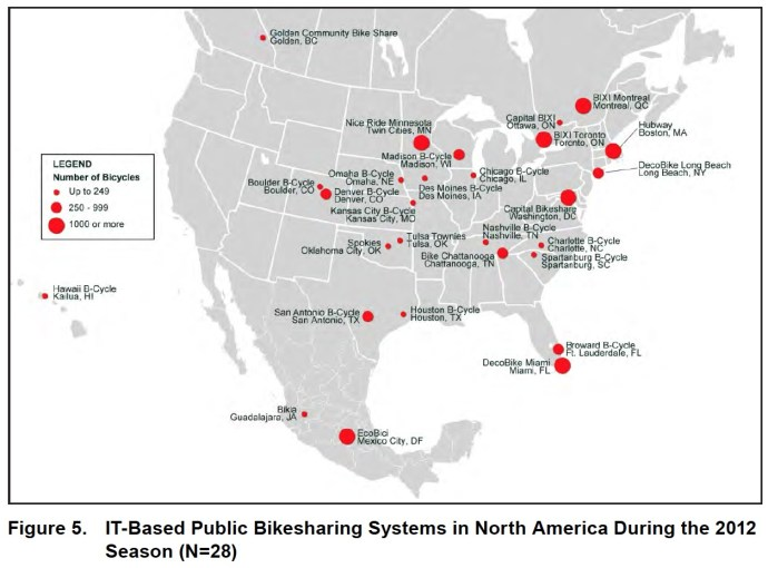 Figure1: IT-based public bikeshare systems