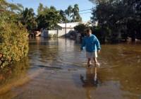 High tide flooding in Broward County, Florida. Photo Credit: Paul Krashefski.