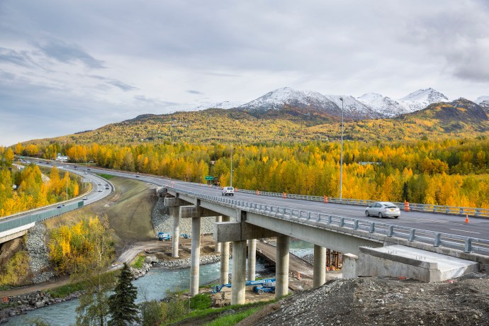 Alaska's Glenn Highway Capacity Improvements
