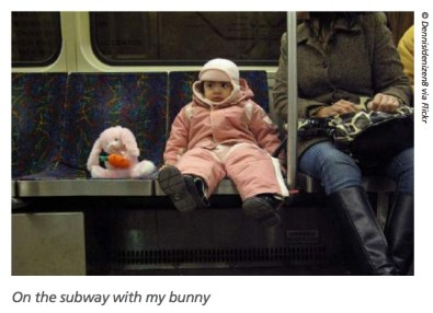 Transportation for Massachusetts: On the Subway with my Bunny