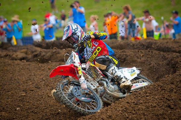 Eli Tomac 2014 Motocross Muddy Creek - Moto 2