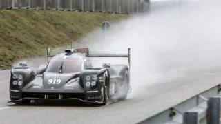 porsche 919 2015 test track