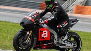 aprilia gresini test motogp sepang