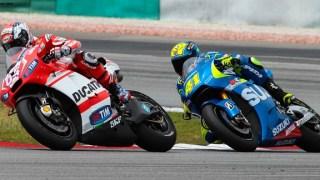 dovi aleix ducati suzuki test motogp sepang 2015