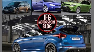 ford focus rs storia infullgear