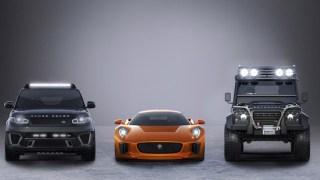 jaguar land rover james bond spectre film