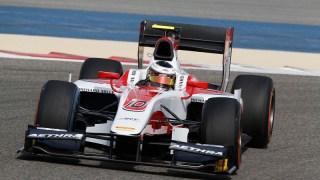2014 GP2 Series Test 2 Bahrain International Circuit, Bahrain Wednesday 19 March 2014. Stoffel Vandoorne (BEL, ART Grand Prix)  World Copyright: Sam Bloxham/LAT Photographic. ref: Digital Image _SBL6949