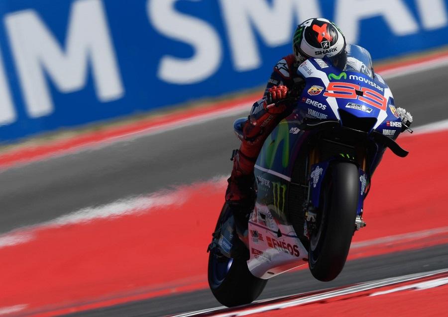 MotoGP Misano Warm Up Marc Marquez 1° con scivolata