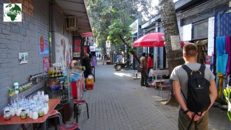 Hyggeligt område med mange meget specielle butikker