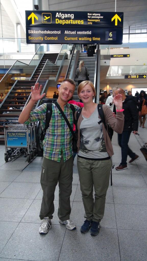 Klar til vores første backpacker rejse tilbage i 2013