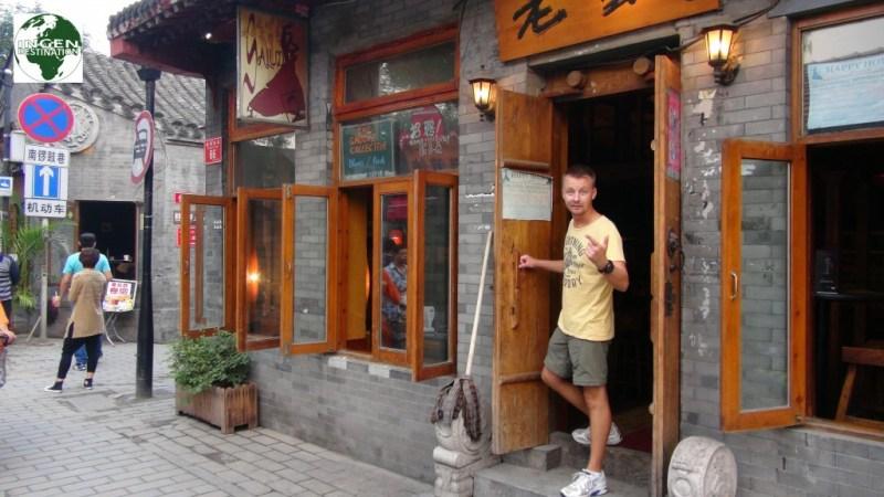 Salúd bar, hvor vi mødtes med de Hollandske piger - som viste sig at være et par.